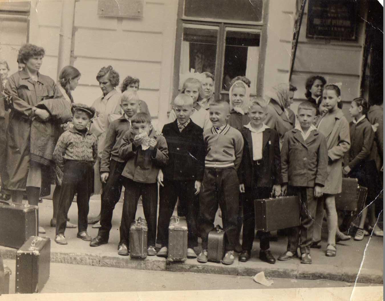 Первая поездка по Костромской области 1965г.