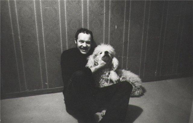 Григорий с собакой